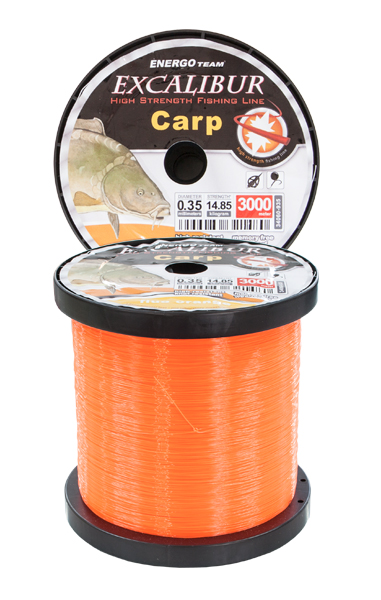 FIR EXCALIBUR CARP FEEDER FLUO ORANGE 3000M
