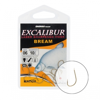 Carlige Excalibur Bream Match Brown