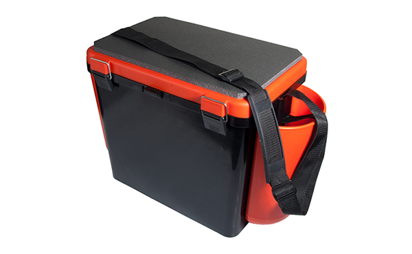 FISHING BOX IARNA 1 COMPARTIMENT 19L (HELIOS) ORANGE