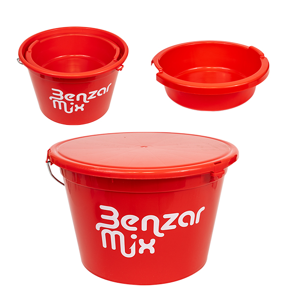 GALEATA BENZAR MIX BUCKET 25 L+BOWL+COVER