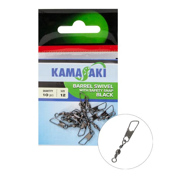 Agrafa cu vartej safety Kamasaki