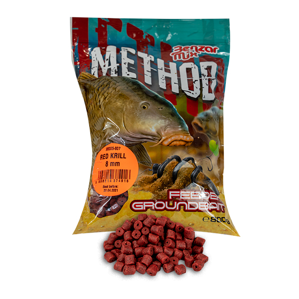 BENZAR METHOD PELLETE RED KRILL